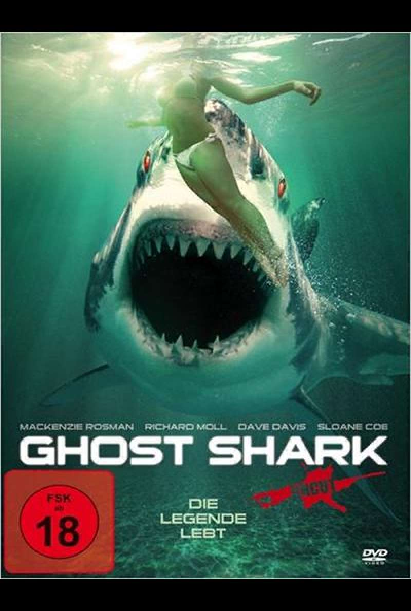 Ghost Shark - DVD-Cover