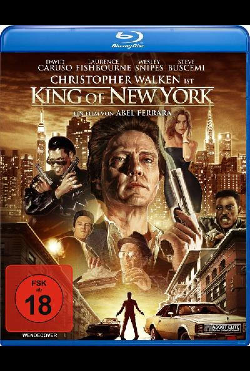 King of New York - Blu-ray Cover