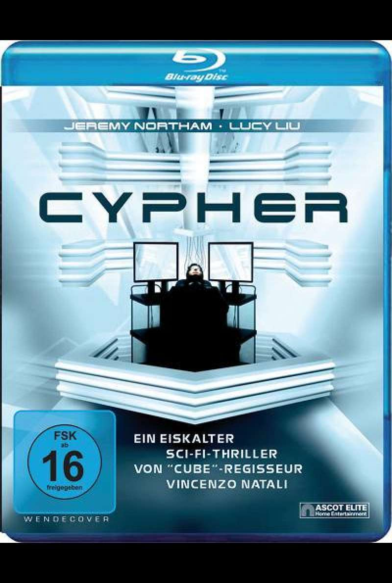 Cypher - Blu-ray Cover