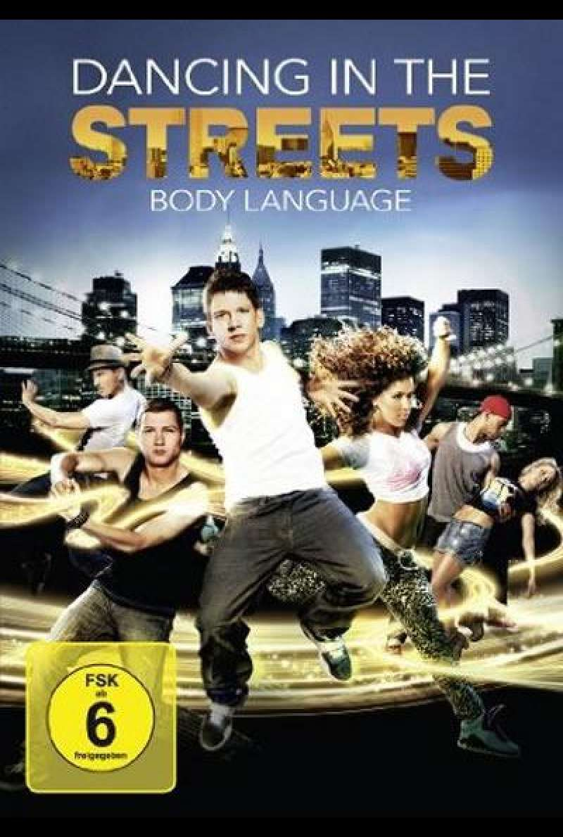 Dancing in the Streets - Body Language - DVD-Cover