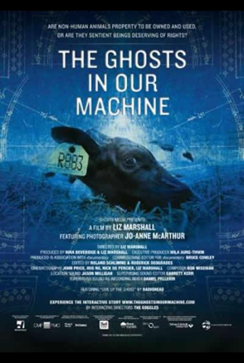 The Ghosts in our Machine - Filmplakat (US)