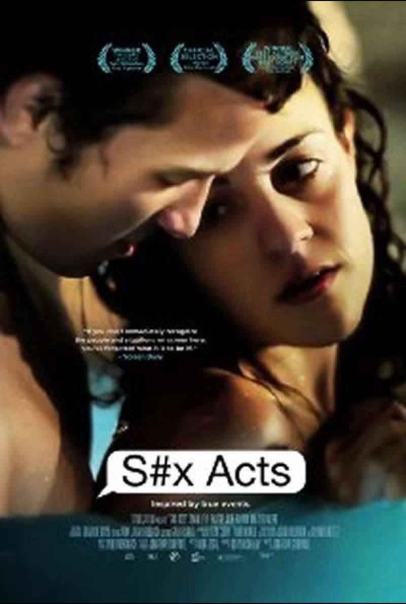 S#x Acts - Filmplakat (IL)