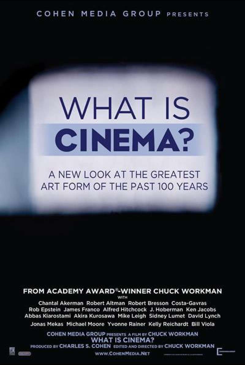 What is Cinema? - Filmplakat (US)