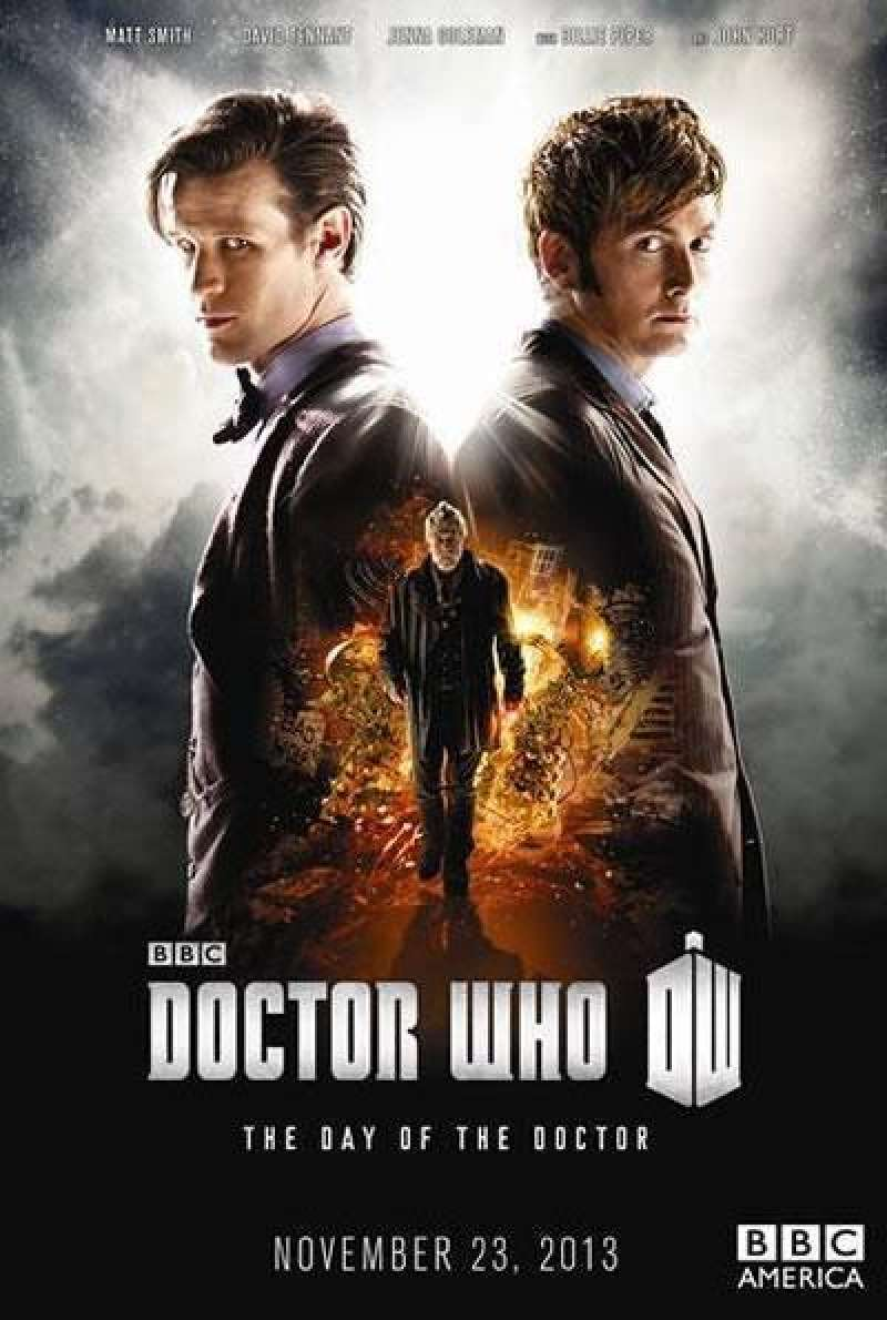 The Day of the Doctor - Filmplakat