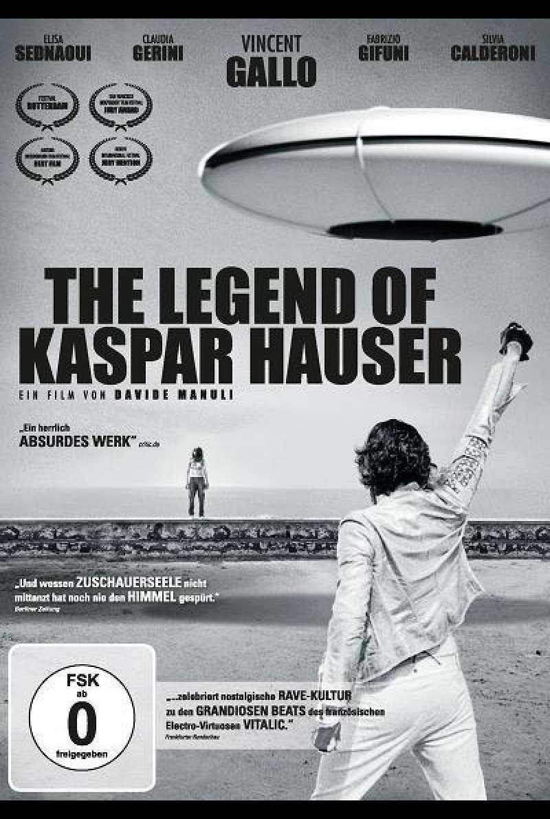 The Legend of Kaspar Hauser - DVD-Cover