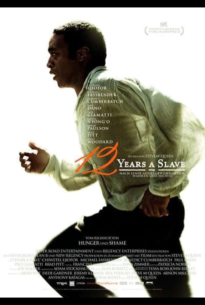 12 Years a Slave - Filmplakat