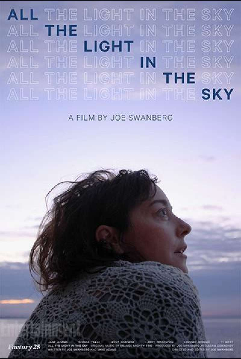 All the Light in the Sky - Filmplakat (US)