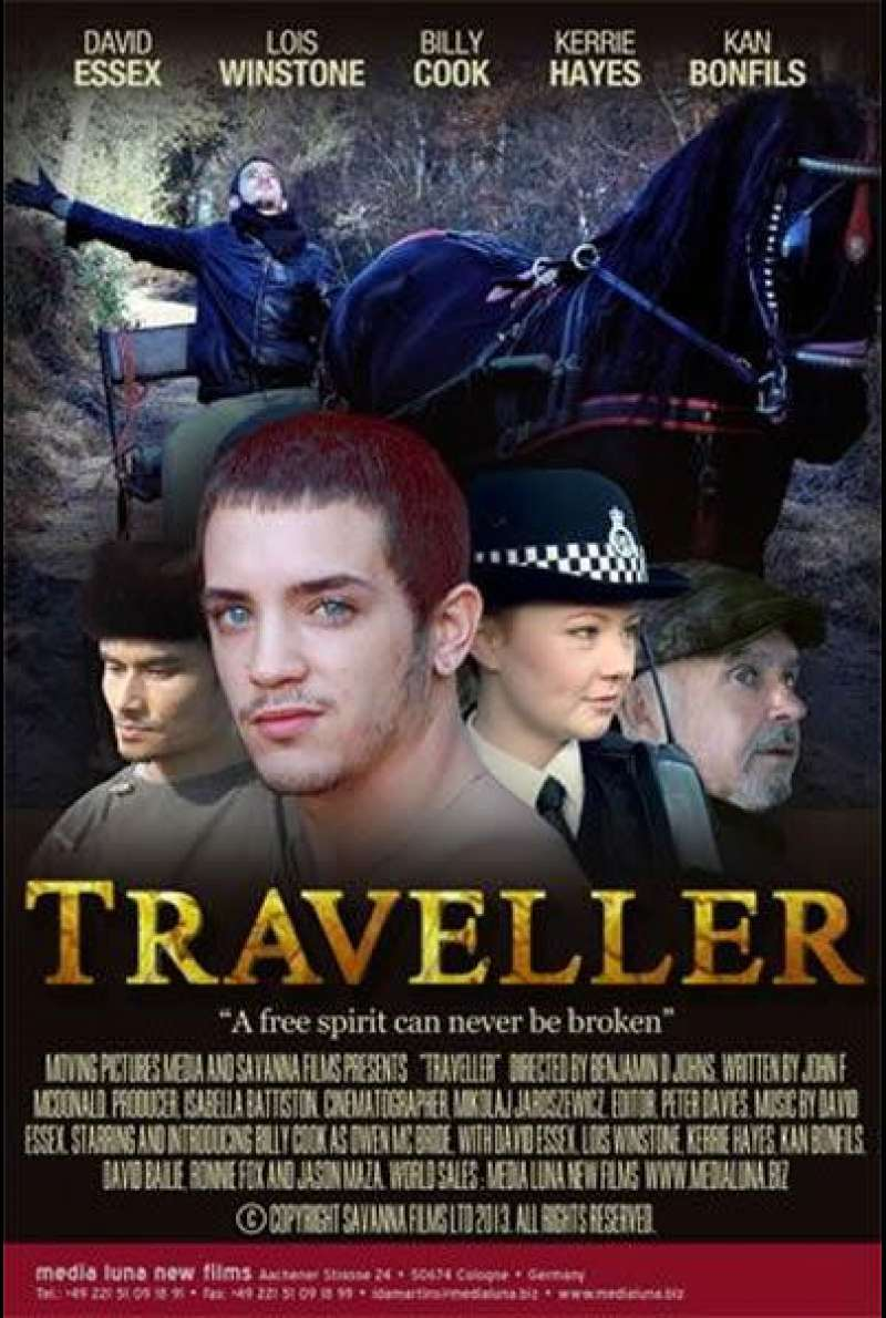 Traveller - Filmplakat (GB)