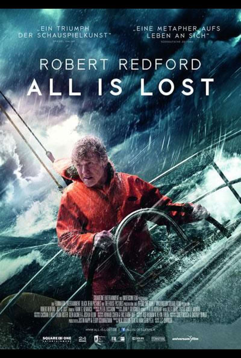 All Is Lost - Filmplakat