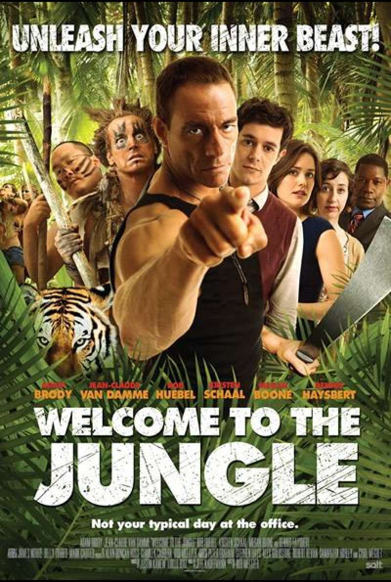 Welcome to the Jungle - Filmplakat (US)