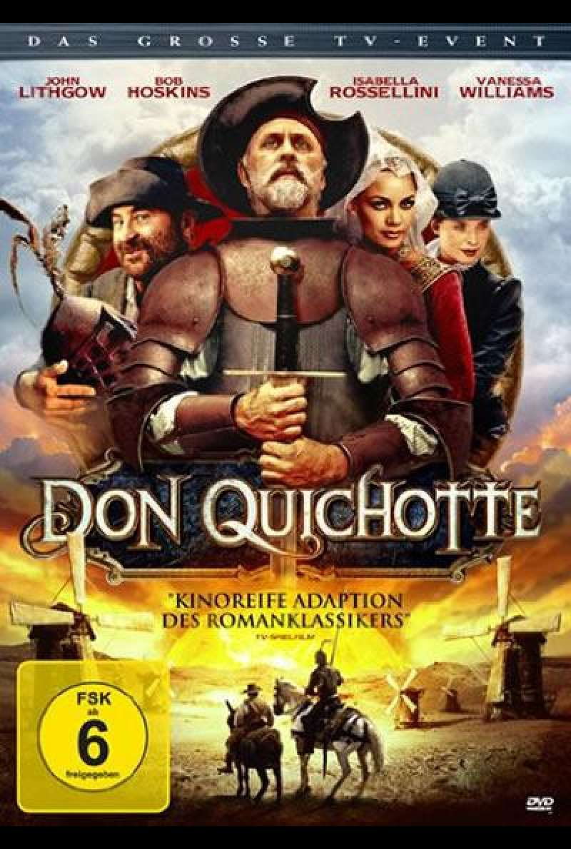 Don Quichotte - DVD-Cover