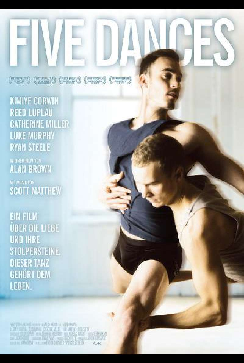 Five Dances - Filmplakat