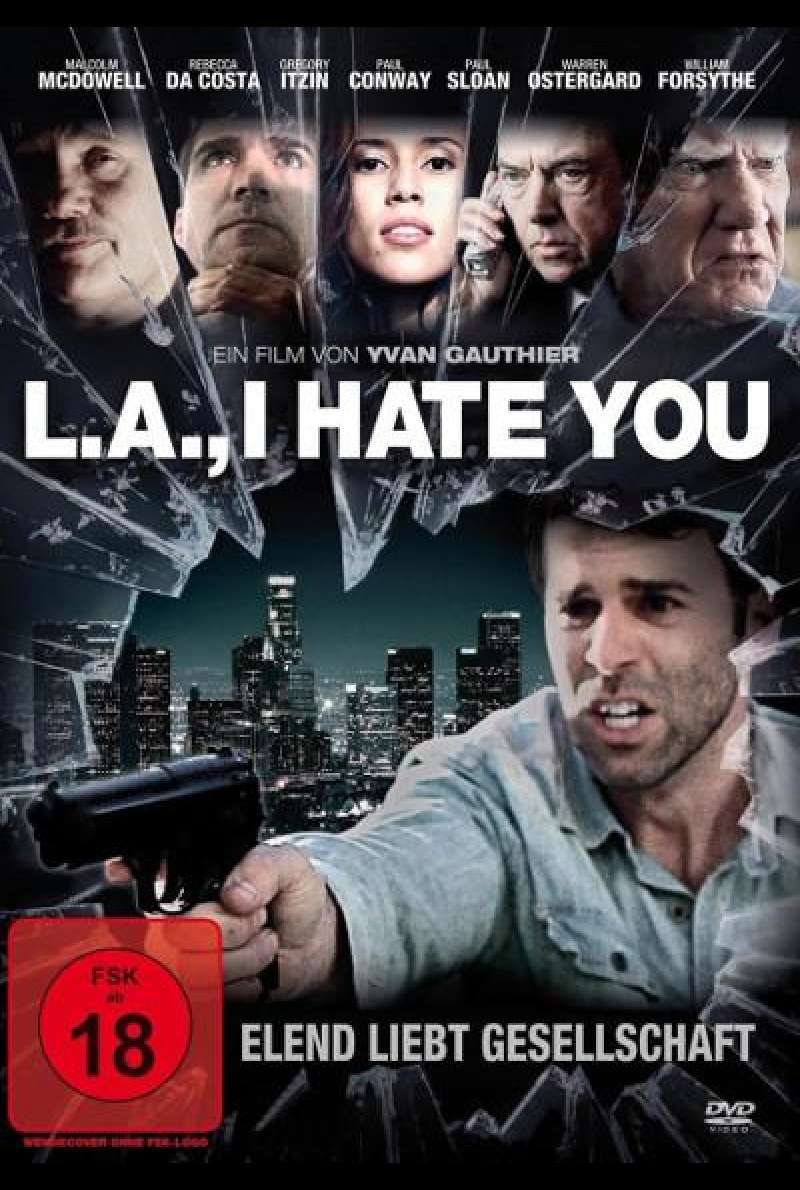 L.A., I Hate You - DVD-Cover