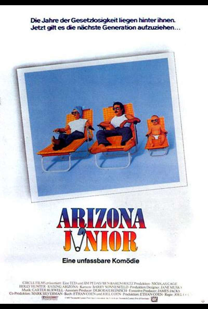Arizona Junior - Filmplakat