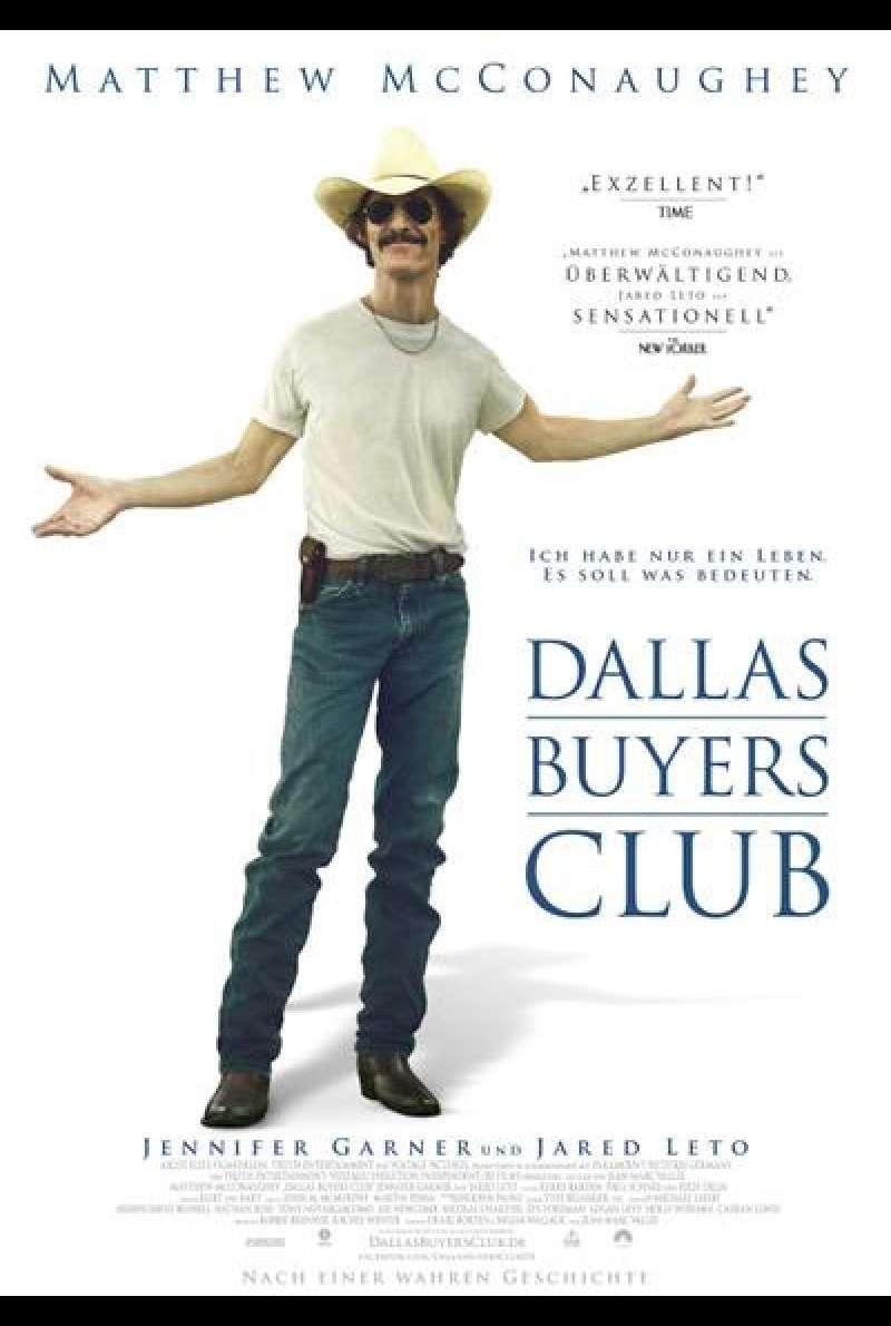 Dallas Buyers Club - Filmplakat