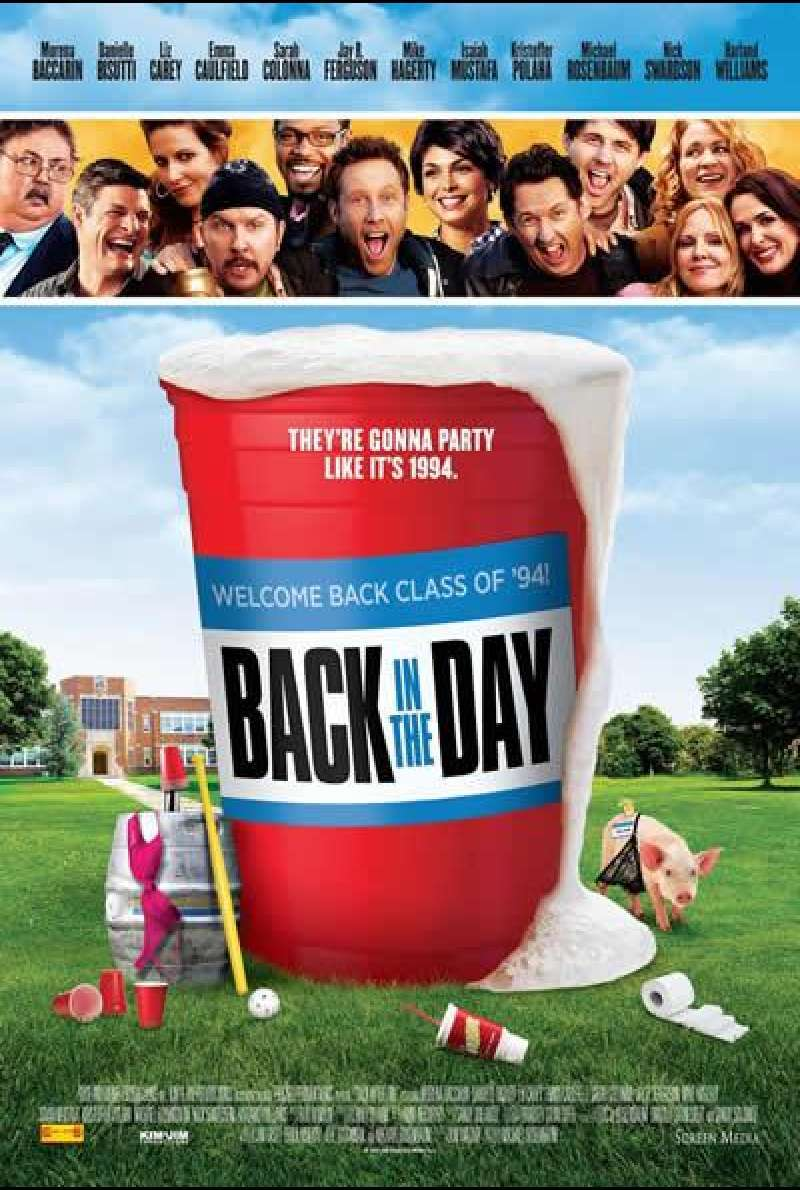 Back in the Day - Filmplakat (US)