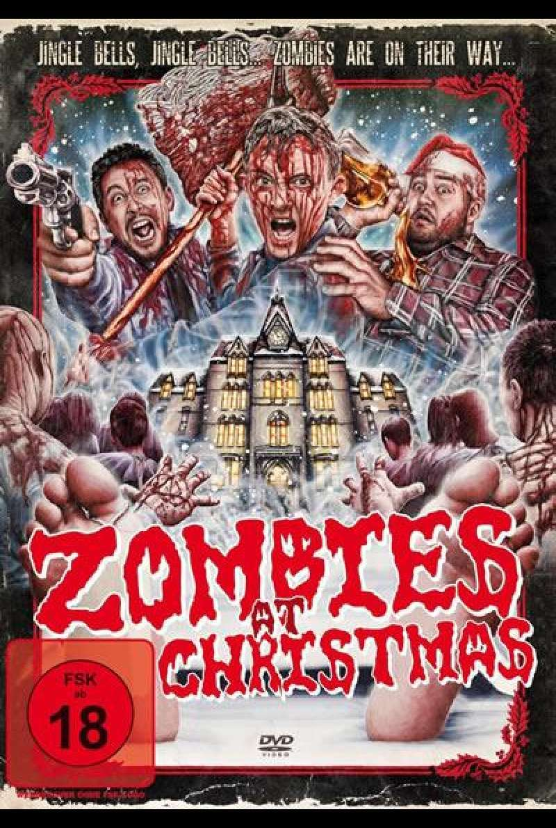 Zombies at Christmas - DVD-Cover