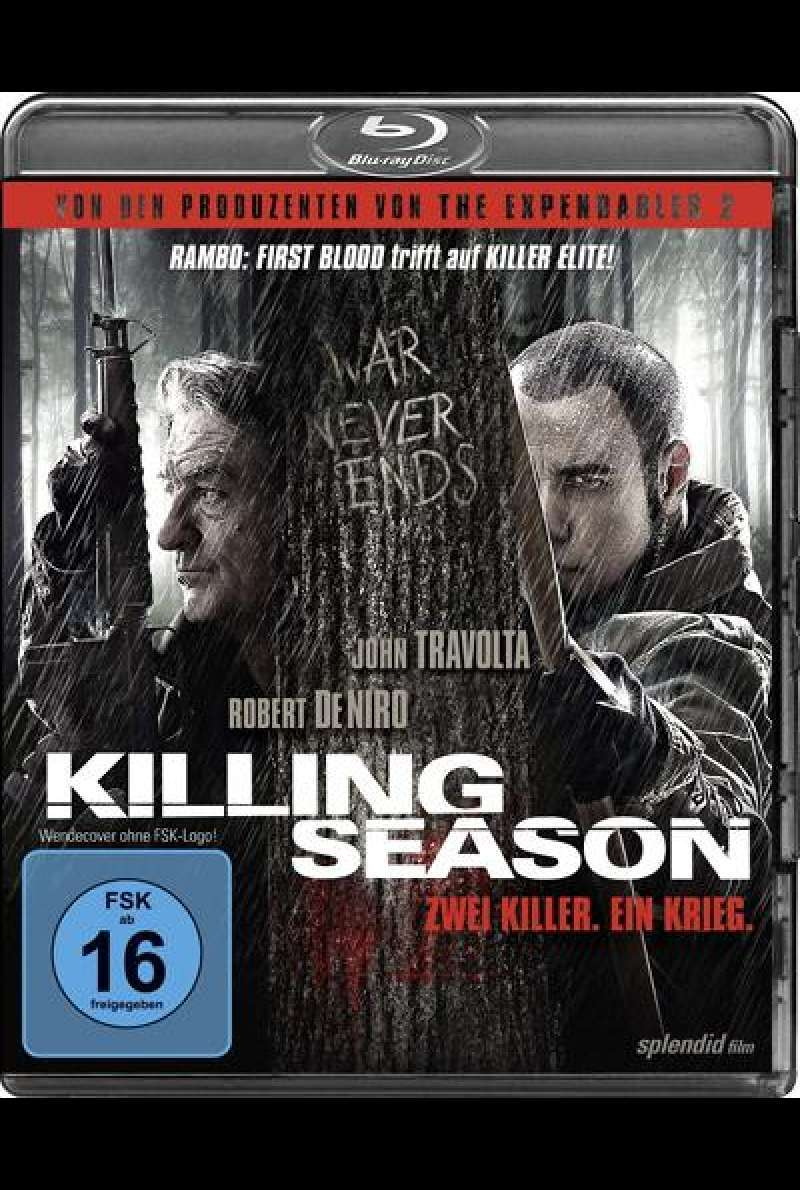 Killing Season - Blu-ray Cover