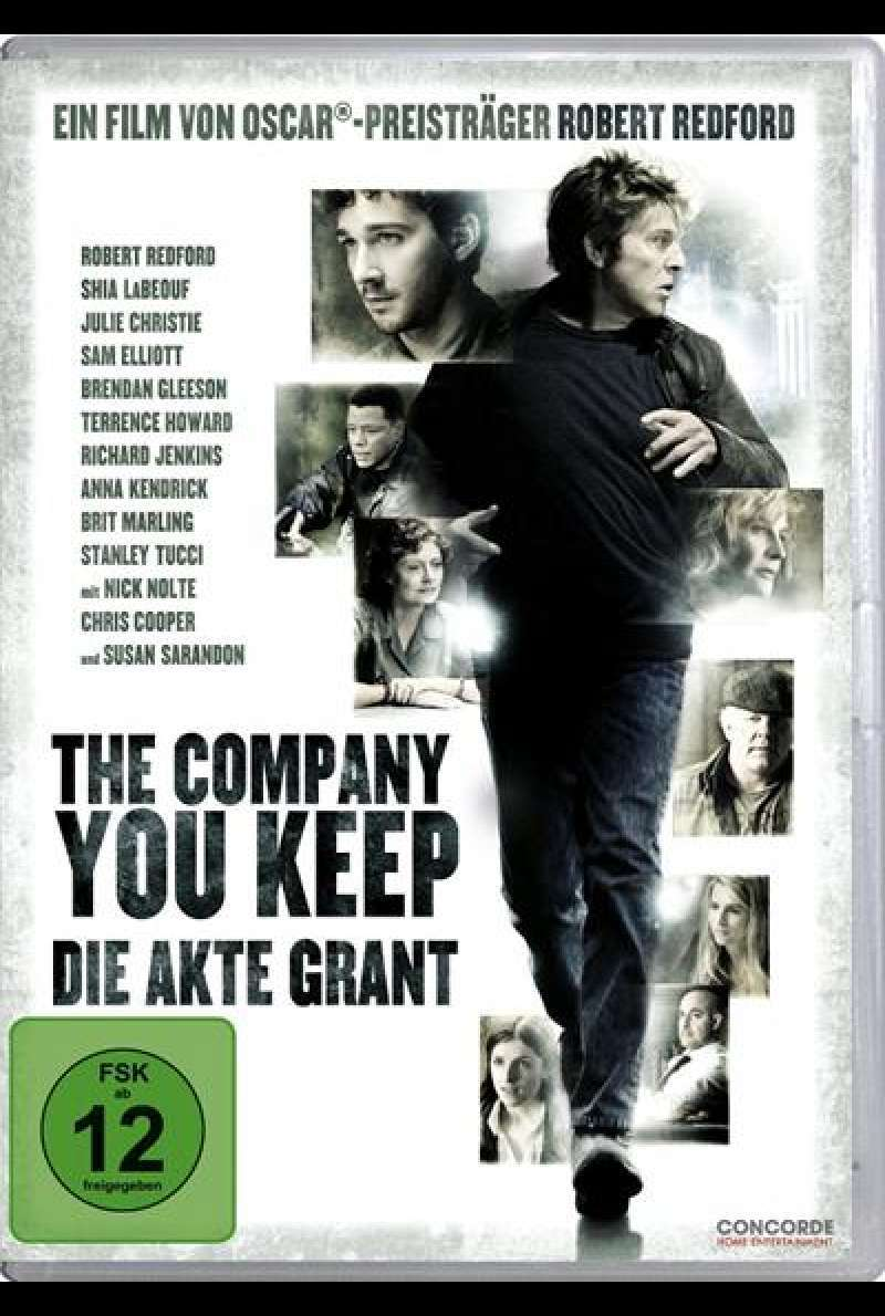 The Company You Keep - DVD-Cover