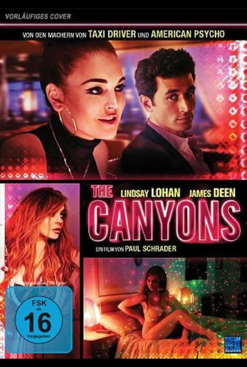 The Canyons - DVD-Cover