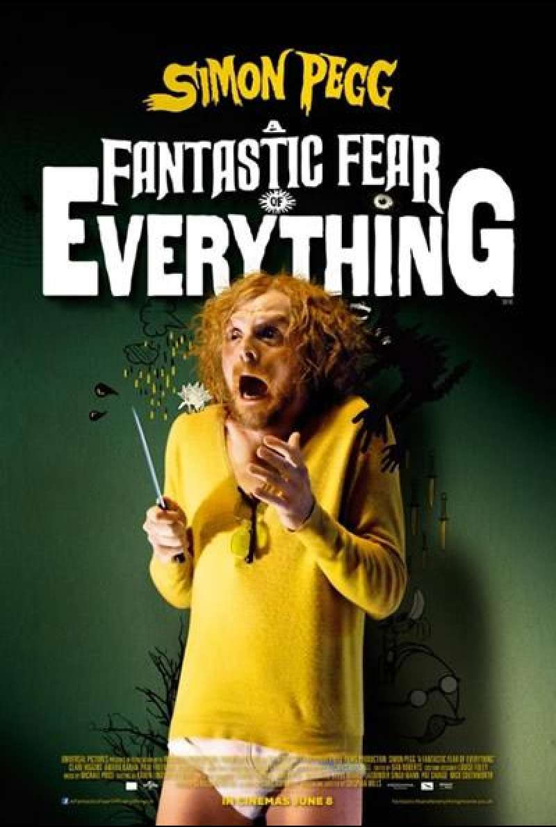 A Fantastic Fear of Everything - Filmplakat (US)