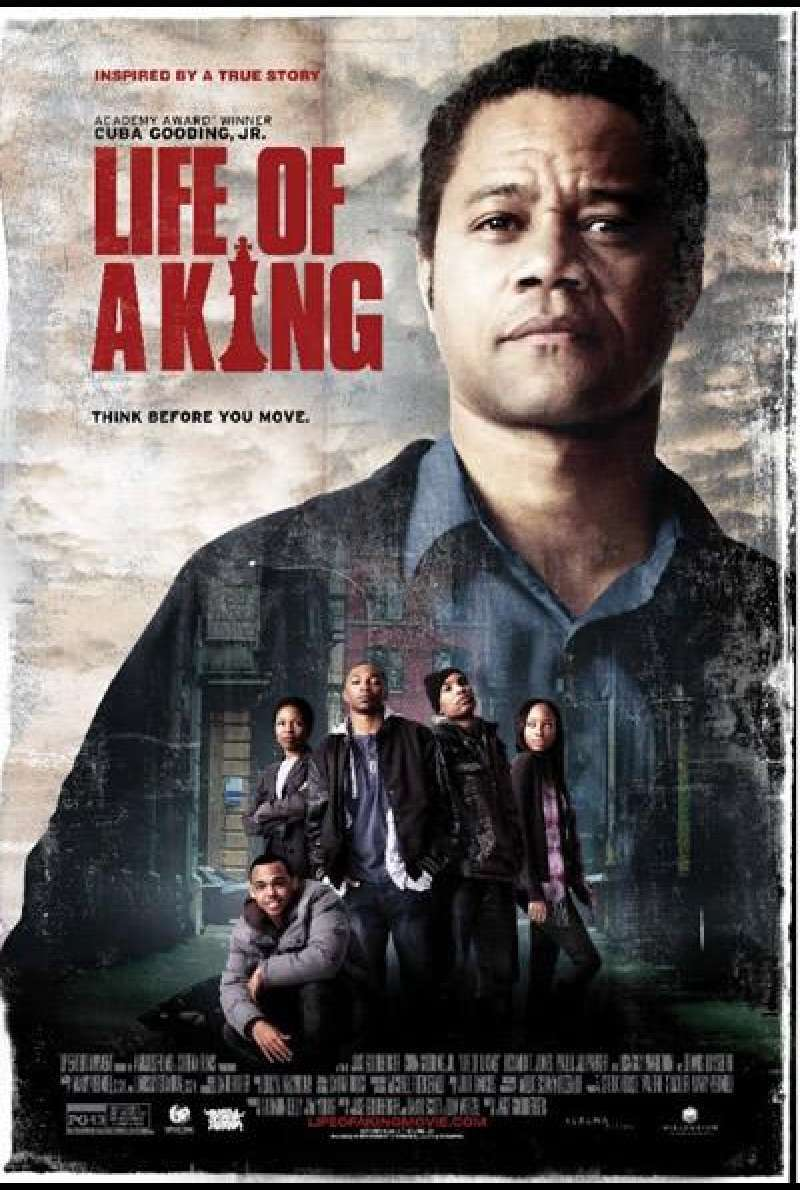 Life of a King - Filmplakat (US)