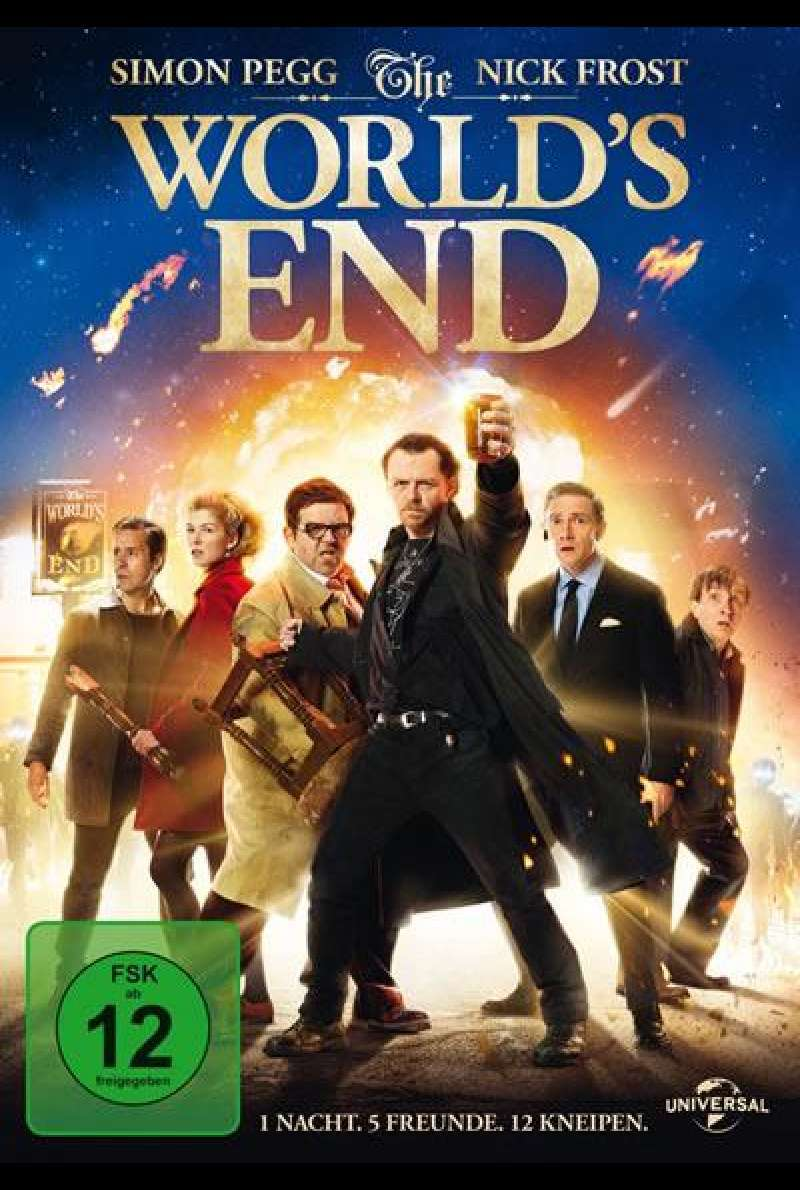The World's End - DVD-Cover