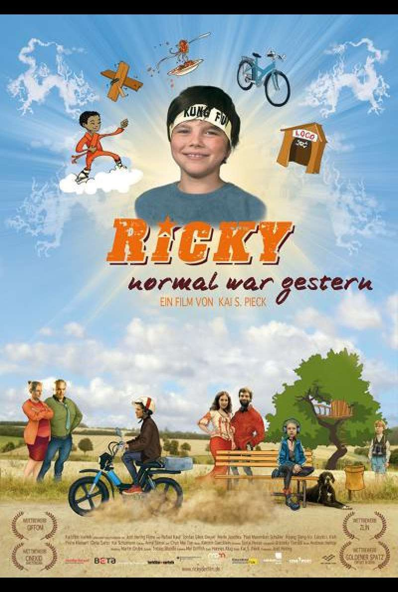 Ricky - Normal war gestern - Filmplakat