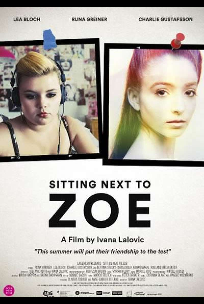 Sitting Next to Zoe - Filmplakat (INT)