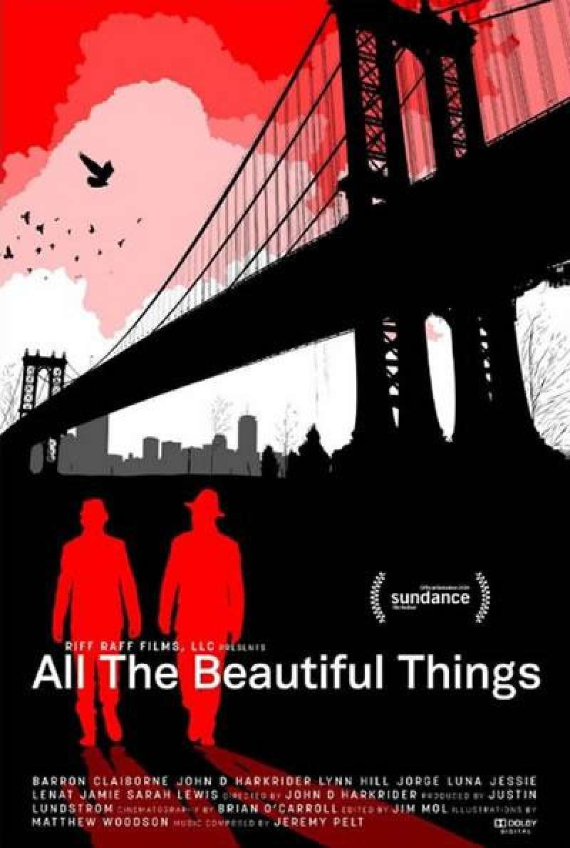 All the Beautiful Things - Filmplakat (US)