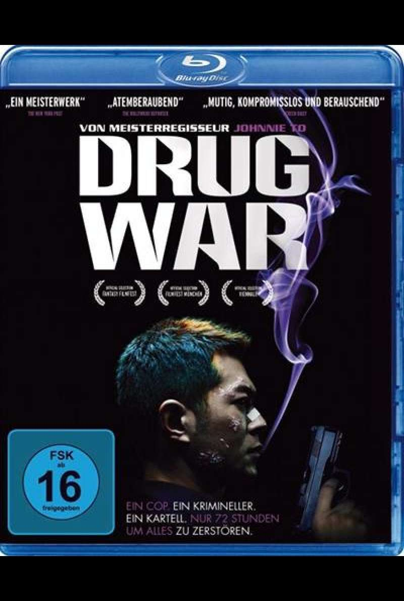 Drug War - Blu-ray Cover