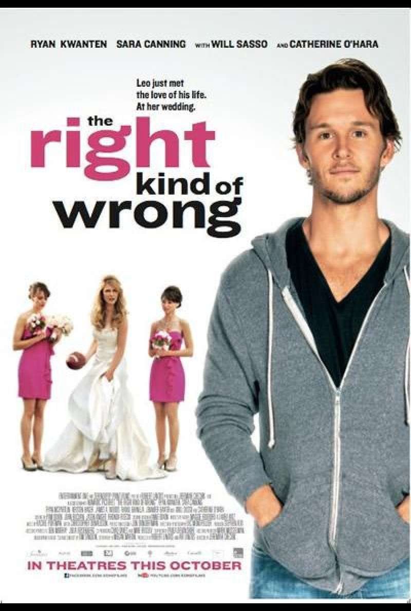 The Right Kind of Wrong - Filmplakat (US)