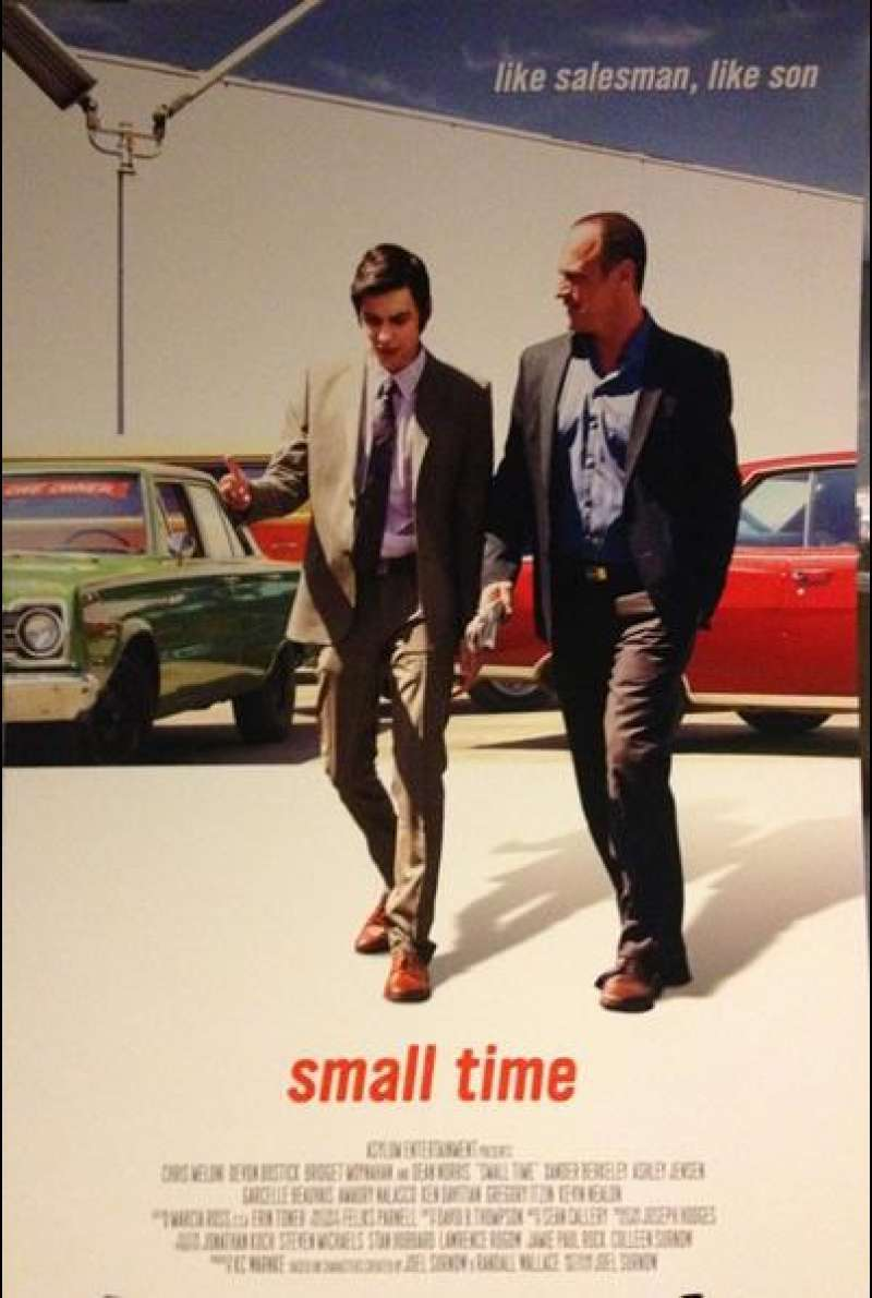 Small Time - Filmplakat (US)
