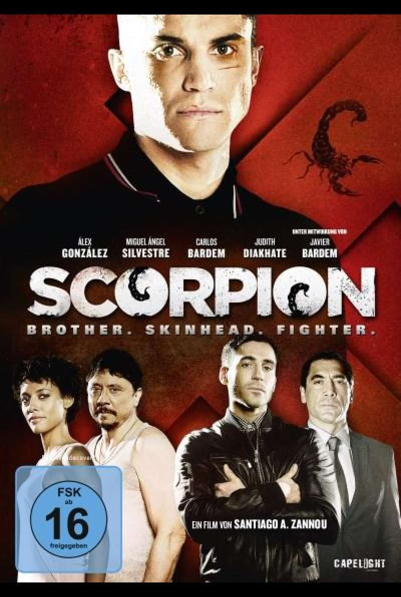 Scorpion: Brother. Skinhead. Fighter - DVD-Cover