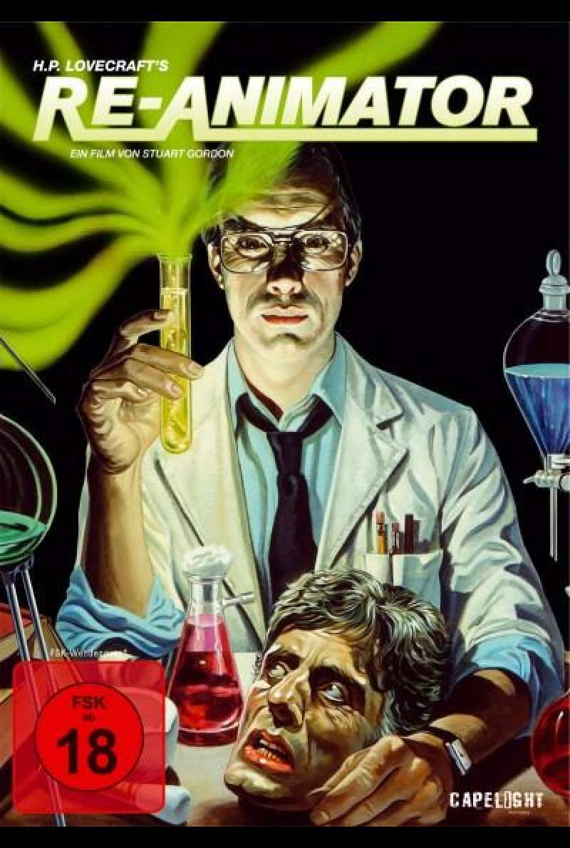 Re-Animator - DVD-Cover