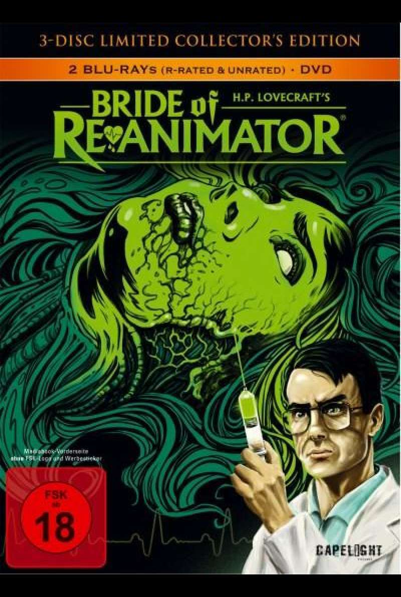 Bride of Re-Animator - DVD-Cover