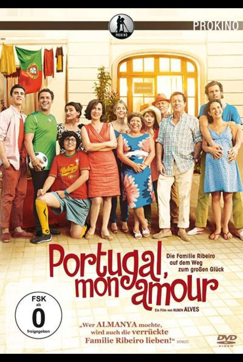 Portugal, mon amour - DVD-Cover