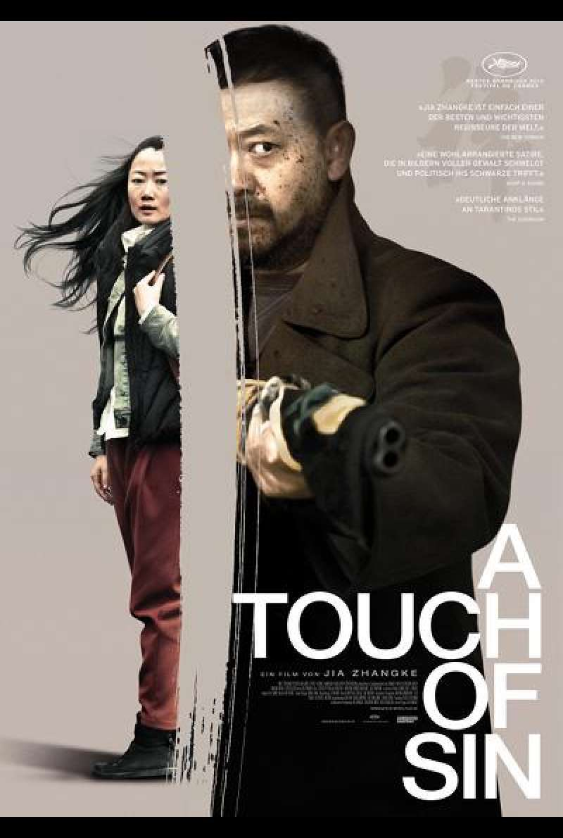 A Touch of Sin - Filmplakat