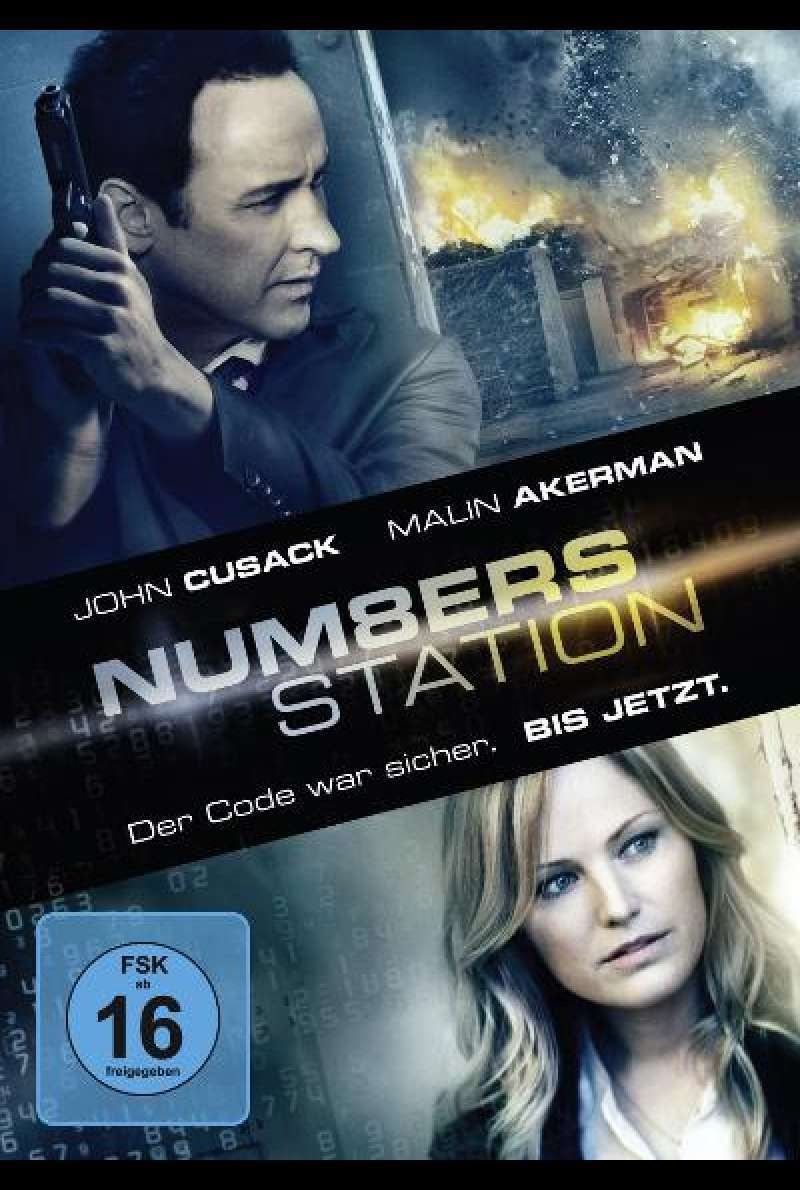 Numbers Station - DVD-Cover