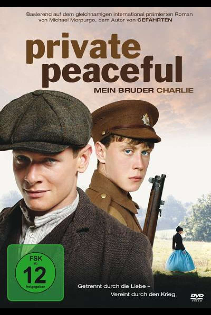 Private Peaceful - Mein Bruder Charlie - DVD-Cover