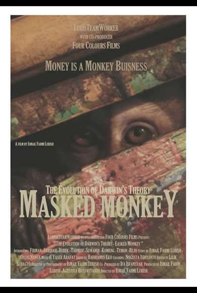 Masked Monkey - The Evolution of Darwin's Theory - Filmplakat (IDN)