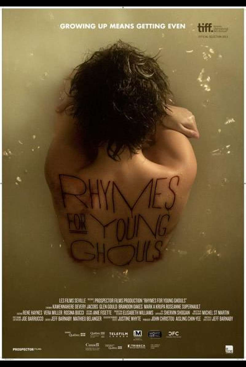 Rhymes for Young Ghouls von Jeff Barnaby - Filmplakat (CA)