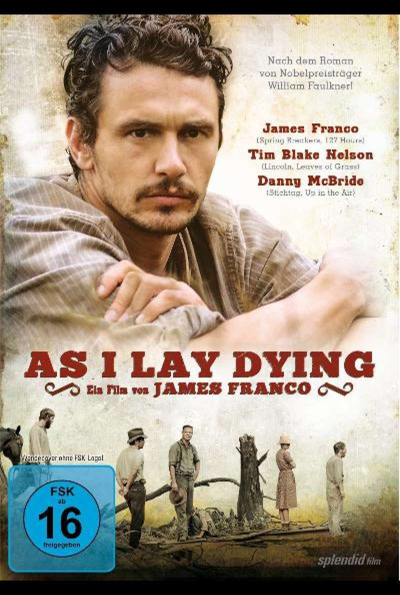 As I Lay Dying von James Franco - Cover - DVD