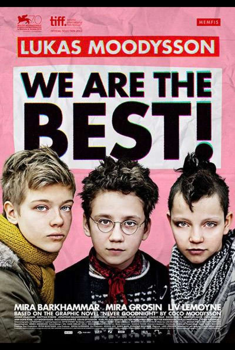 We Are the Best! von Lukas Moodysson - Filmplakat (SE)