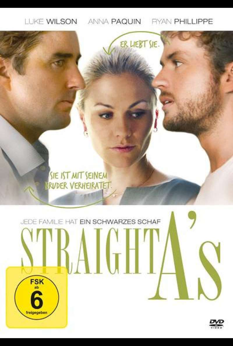 Straight A's - DVD-Cover