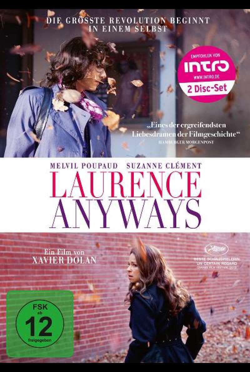 Laurence Anyways - DVD-Cover
