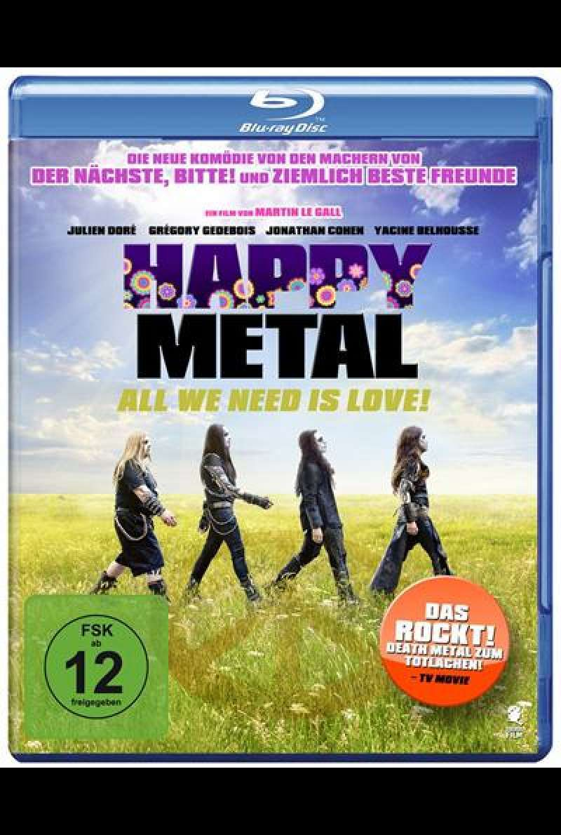 Happy Metal - All We Need Is Love - Blu-ray Cover