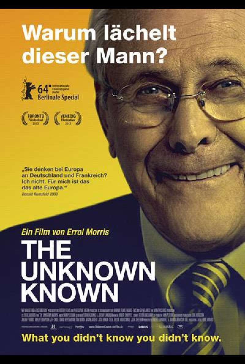 The Unknown Known - Filmplakat