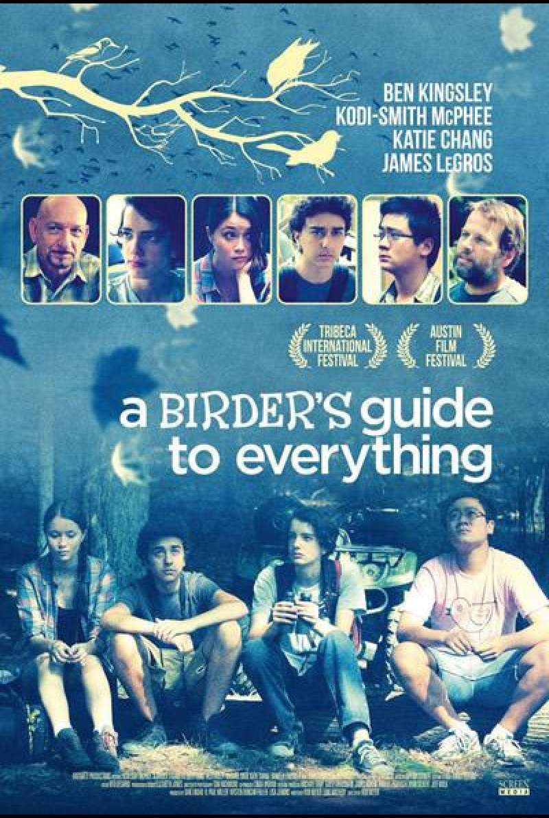 A Birder's Guide to Everything von Rob Meyer - Filmplakat (US)