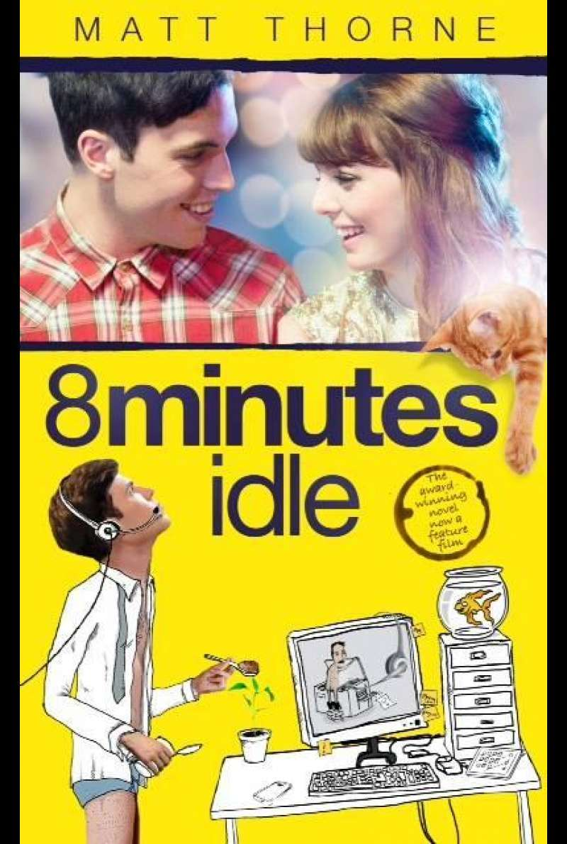 8 Minutes Idle von Mark Simon Hewis - Filmplakat (UK)